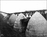 Charcoal kilns at Irondale, Washington, ca. 1902