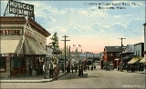Entrance to the Puget Sound Naval Shipyard, Bremerton, Washington, ca. 1917
