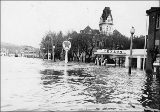 Flood in Colfax, Washington, Feb. 26, 1948