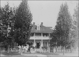 Officer's Clubhouse at  Vancouver Barracks, Washington, 1888