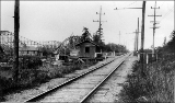 Interurban station at  Bitter Lake, Seattle, n.d.