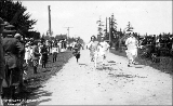 Children's race for July 4th celebration, Coupeville, Whidbey Island, Washington, 1914