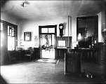 Hoquiam Hotel interior, Hoquiam, Washington, ca. 1890