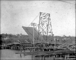 Drawbridge in Olympia, Washington, ca. 1900