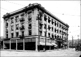 Hutton Building on Washington St. between Sprague and First Aves., Spokane, Washington