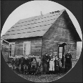 First schoolhouse at Tolt, Washington, ca. 1890