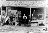 C.S. Custer general store, Renton, Washington, ca. 1892
