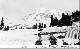 Camp of the Clouds, Mount Rainier, Washington, July 5, 1914