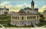 Public Library and Piece County courthouse, Tacoma, Washington, ca. 1923