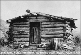 Ben Ross cabin, Omak, Washington, n.d.
