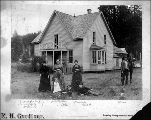Homestead in Greenwood, southeast Grays Harbor County, Washington, ca. 1890