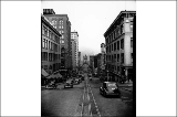 11th St. from near Broadway, Tacoma, Washington, ca. 1940
