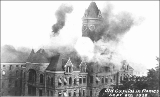 Old Capitol Building on fire, Olympia, Washington, September 8, 1928