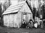 Homestead on the Hoquiam River, Washington, 1895