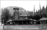 Log Cabin Hotel, Lake Crescent, Washington, ca. 1919