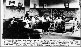 Interior of classroom, Arlington High School, Washington, 1904