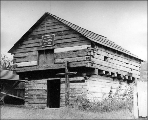 Alexander Blockhouse near Coupeville, Whidbey Island, Washington