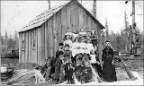 First schoolhouse in Sultan, Washington, ca. 1895