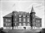 Administration Building, Washington Agricultural College, Pullman, Washington, ca. 1895