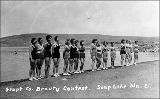 Beauty contest held at Soap Lake, n.d.