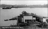 Ferry dock at Port Orchard, Washington, ca. 1908