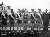 Basketball championship team, Port Townsend, Washington, 1924