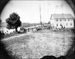 Fourth of July celebration, Snohomish, Washington, ca. 1874