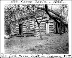 Job Carr cabin and post office, Tacoma, Washington, n.d.