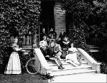 Col. T.M. Anderson and family, Vancouver Barracks, Washington, 1897