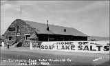 Thorson's Soap Lake Products Co., Soap Lake, Washington, ca. 1930