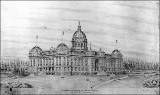 Design proposal for the State Capitol Building at Olympia, Washington, 1893