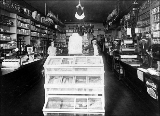 Botten general store interior, Silvana, Washington, ca. 1910-1915
