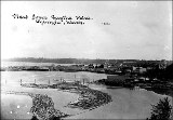 Olympia viewed from Capitol Point, Olympia, Washington, ca. 1900