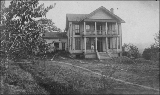Lancaster house near the mouth of the Lewis River, Clark County, Washington, ca. 1895