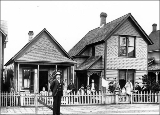 Residence used for smallpox quarantine, Hoquiam, Washington, 1908