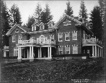 Governor's mansion, Olympia, Washington, 1909