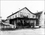 Central Hotel, Port Townsend, Washington, ca. 1895