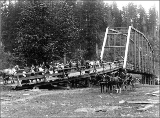 Bridge near Olympia, Washington, ca. 1899