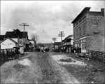 First and Main  looking east, Bothell, Washington, ca. 1909