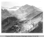 White Chuck Glacier from just below White Mountain looking northeast, n.d.