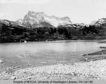 Bonanza Peak viewed from Lyman Lake, n.d.