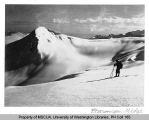 Skier at Ptarmigan Ridge, n.d.