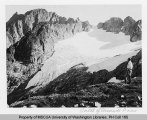 Hanging glacier southeast of Cascade Pass, n.d.