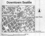 Seattle reference map ; downtown Seattle [verso]