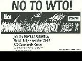 No to WTO!