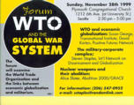 Forum : WTO and the global war system [recto]