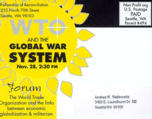 Forum : WTO and the global war system [verso]