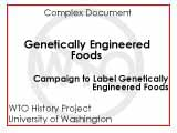 Help get genetically engineered foods labeled in the United States