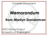 Memorandum ; To : interested parties ; From : Marilyn Sneiderman ; Date : August 18, 1999 ; Re :...