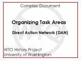 Organizing task areas : October 31, 1999